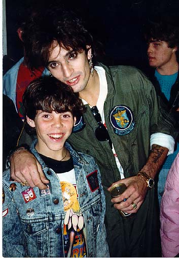 Throwback Thursday: Steve-O and Tommy Lee, 1987.