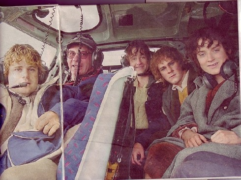 Hobbits in a Helicopter.